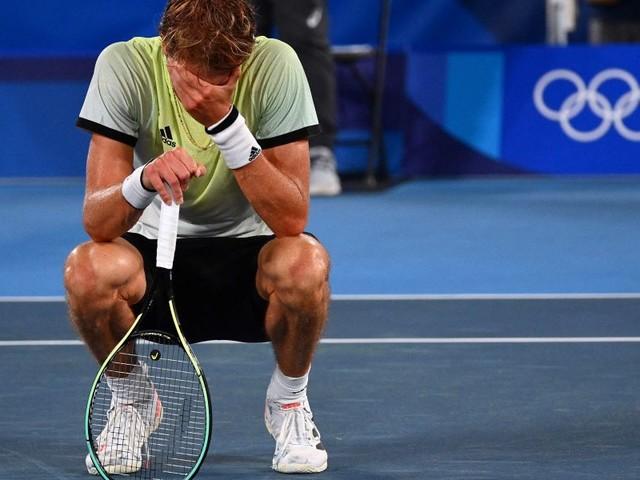 Zverev schlägt Djokovic: Kein Golden Slam für den Serben
