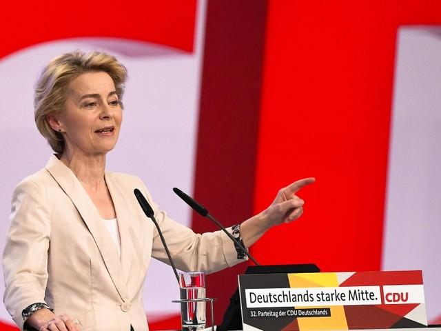 Künftige EU-Kommissarin von der Leyen verspricht energische Führung