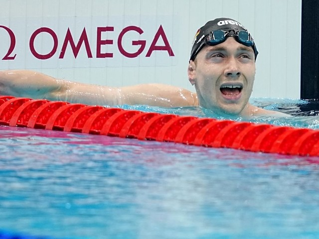 """Schwimmer Mühlleitner freut Olympia-""""Holzmedaille"""""""