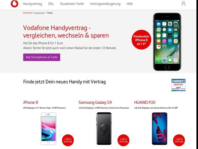 Vodafone Handyvertrag - aktuelles Handy mit Vertrag | Vodafone
