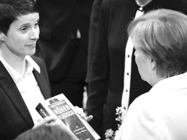 """Frauke Petry: """"Emotional verstehe ich, dass Merkel 2015 Menschen helfen wollte"""""""