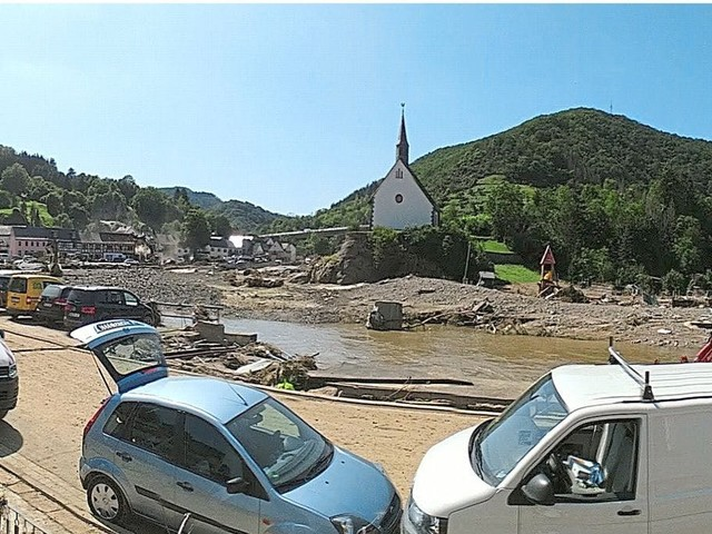 Von Tod und Zerstörung – Lengericherin erlebte die Flutkatastrophein Altenburg
