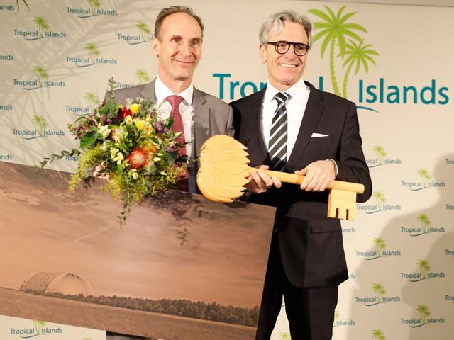 Tropical Islands mit neuem Geschäftsführer: Janssen übergibt an Illy