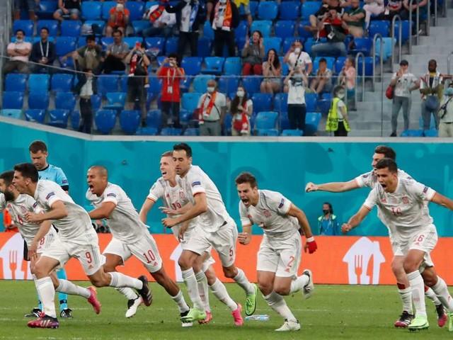 Viertelfinale bei der EM 2021: Elfmeterdrama! Spanien wirft die Schweiz raus