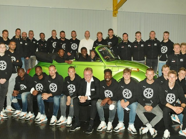 Der VfL Osnabrück nimmt bei VW weiter Fahrt auf