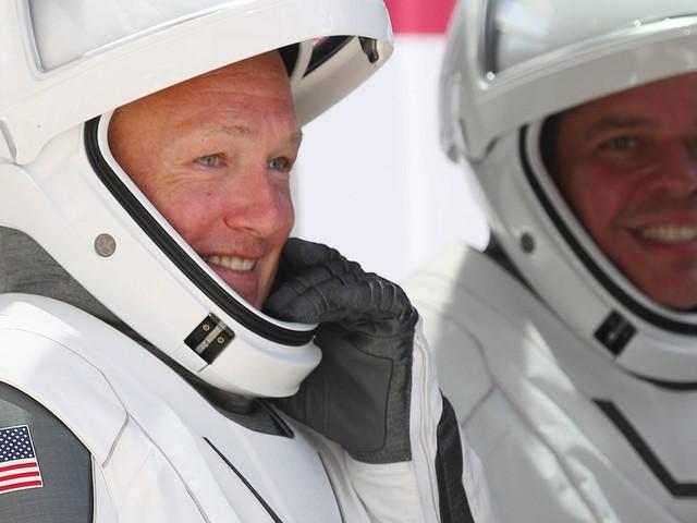 Abflug von der ISS: SpaceX-Astronauten auf dem Rückweg zur Erde