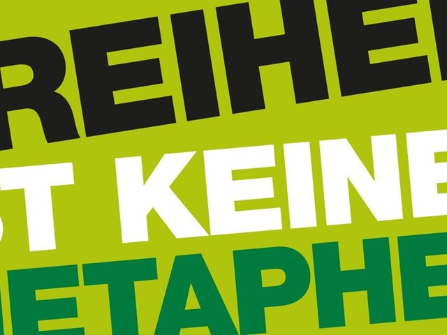 """Neues Buch """"Freiheit ist keine Metapher"""": Kritik unerwünscht"""