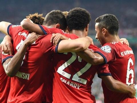 DFB-Pokal - Bayern gewinnen packendes Halbfinale mit 3:2 gegen Bremen