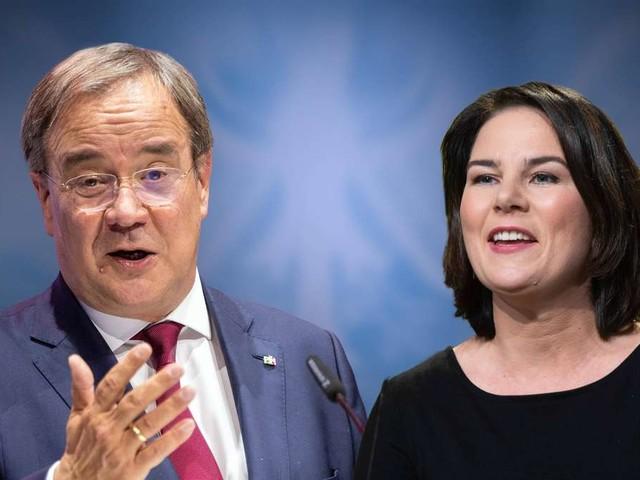 Nächste Umfrage-Klatsche für Union: Laschet nur in einem Land vor Baerbock - vier Koalitionen möglich