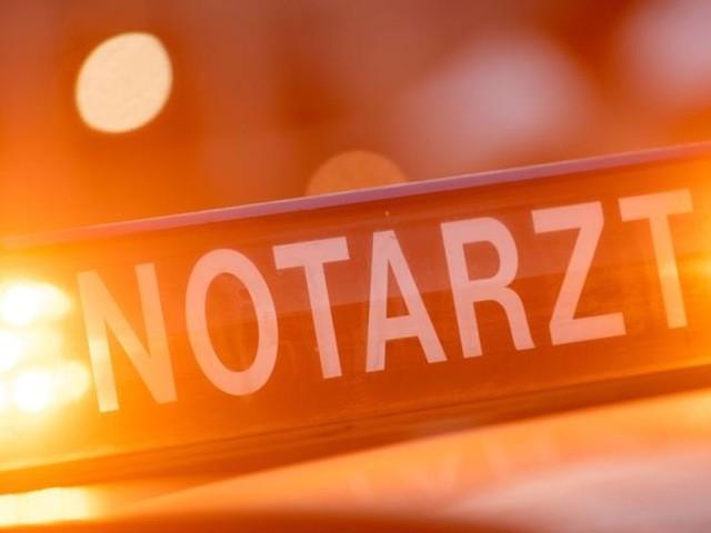 Frontalzusammenstoß von zwei Lastwagen: Fahrer eingeklemmt