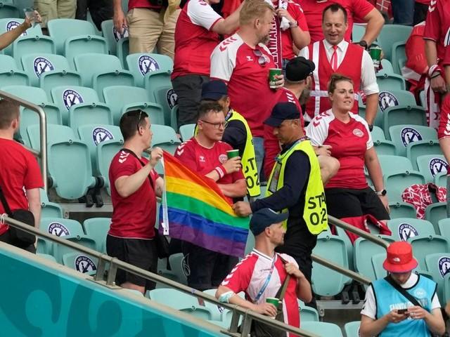 Erneut EM-Aufreger um Regenbogen-Fahne: UEFA irritiert mit Statement