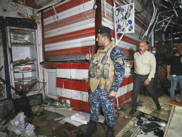 IS-Miliz reklamiert Anschlag auf Markt in Bagdad für sich