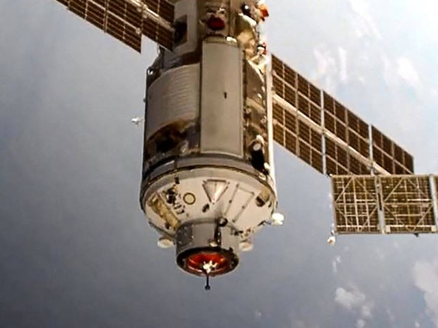 Panne beim Andocken des russischen Forschungsmoduls an die ISS