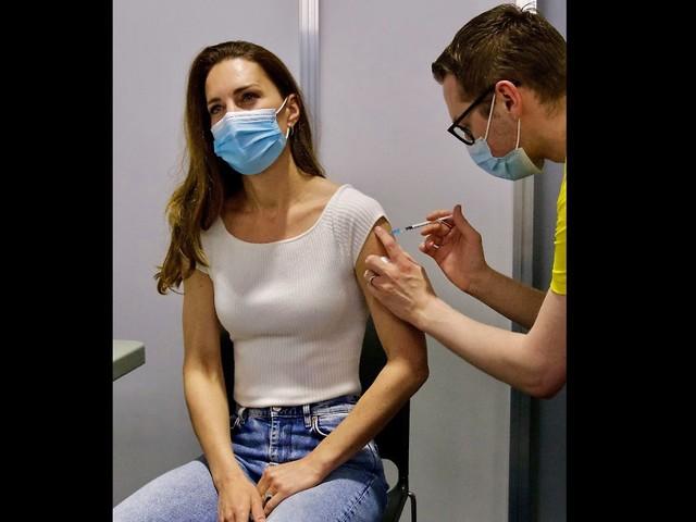 """""""Extrem dankbar"""": Herzogin Kate erhält erste Corona-Impfung"""