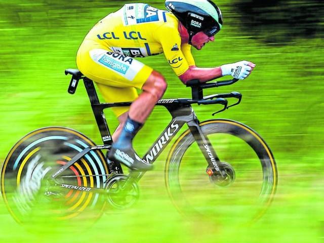 Pöstlberger spitzt auf Etappensieg bei der Tour de France