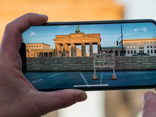 MauAR-App: AR-Projekt zur Geschichte der Berliner Mauer
