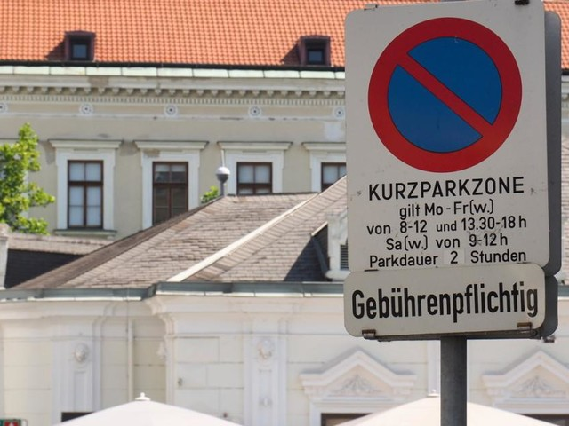 Badens neues Parkraumkonzept muss kurz einparken