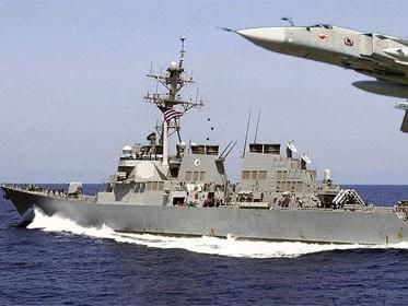 """Zerstörer USS Donald Cook im Schwarzen Meer """"versenkt"""""""