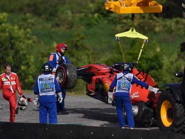 Debakel für Ferrari in Brasilien, Verstappen siegt