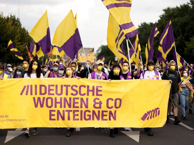 Berlin: Mehrheit der Berliner stimmt für für Enteignungen von Wohnungskonzernen