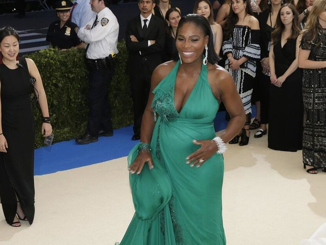 US-Tennisstar: Serena Williams bringt Mädchen zur Welt