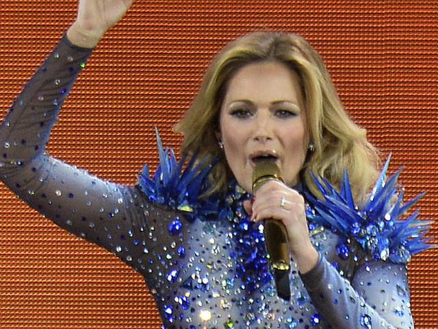 Helene Fischer singt vor 10.000 Fans in Wien