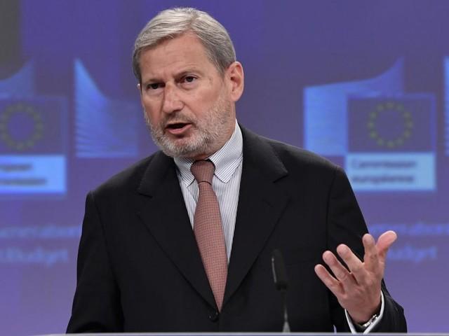 """EU-Kommissar Hahn: """"An der Zeit, auch Europas Wirtschaft zu impfen"""""""