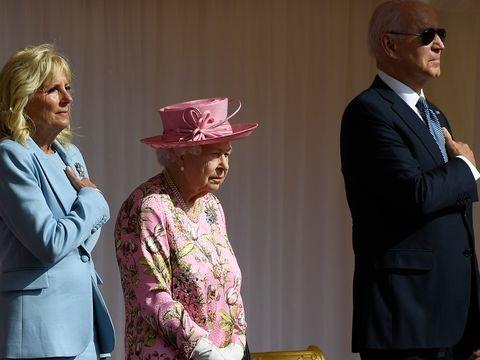 Treffen in Windsor: Queen empfängt US-Präsident Biden und First Lady