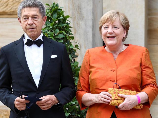 Bayreuther Festviele: Angela Merkel bekommt ersten Applaus