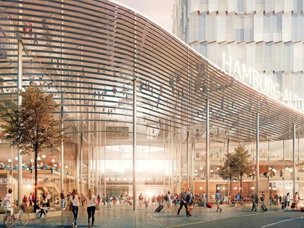 Nach Baustopp: Deutsche Bahn will Pläne für Fernbahnhof Altona voranbringen