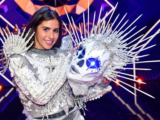 """Musiksendung: """"The Masked Singer"""": Skelett Sarah Lombardi gewinnt die Show"""