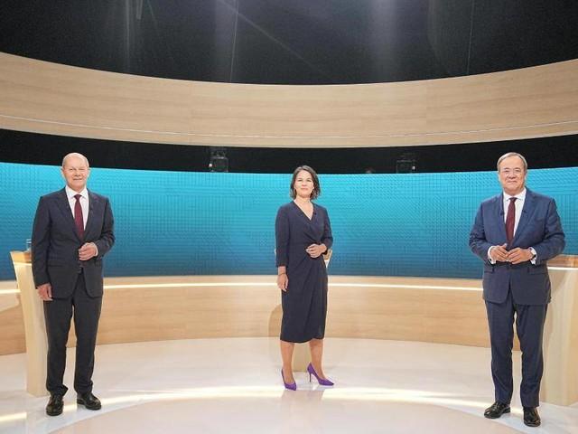 Bundestagswahl: Endspurt im Wahlkampf: Drittes TV-Triell und zwei Parteitage