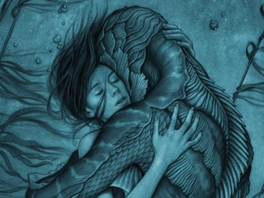 "Exklusives Poster von Guillermo del Toro zu ""Shape Of Water"""