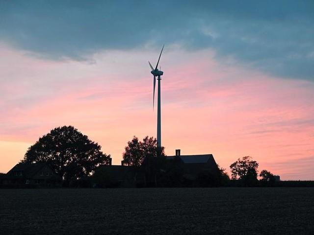 Münsterland: Morgenrot für Windkraft-Pläne