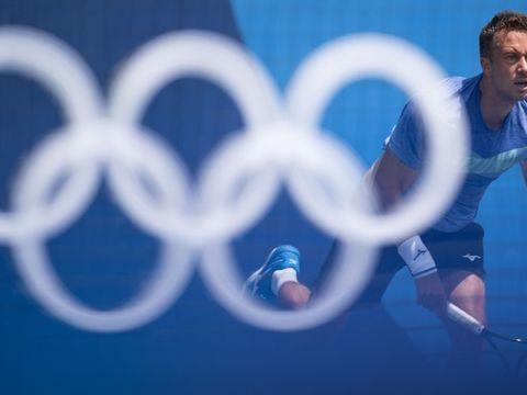 Olympische Spiele: Kohlschreiber verpasst Überraschung gegen Tsitsipas