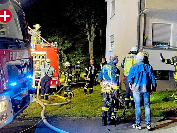 Feuerwehr: Einsatz für die Feuerwehr: Brand im Mescheder Norden