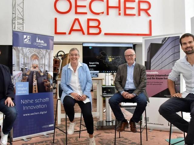 Innovative Start-ups: Neue Plattform des Oecher Lab soll Aachens smarte Ideen bündeln