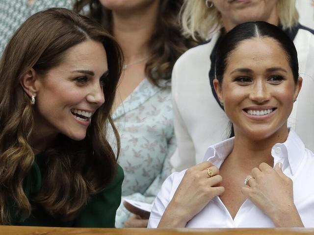Meghan und Kate: Herzoginnen Seite an Seite bei Wimbledon-Finale