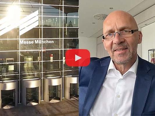 """""""Mehr als Vermieter von Ausstellungsfläche"""" – Klaus Dittrich über die """"Innovation Journey"""" der Messe München und die IAA."""