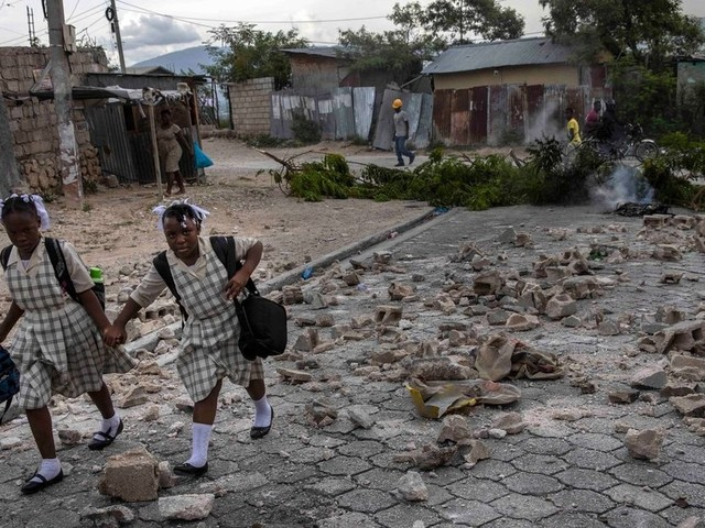 """Haitianer an US-Grenze werden in """"die Hölle"""" zurückgeschickt"""