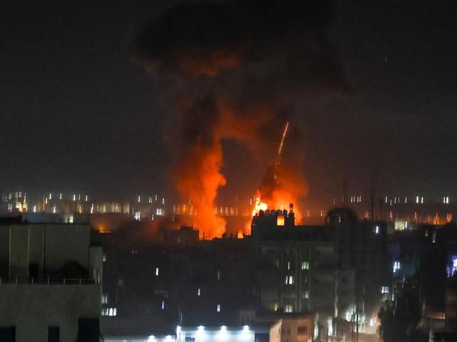 Israel flog erneut Luftangriffe auf Ziele im Gazastreifen