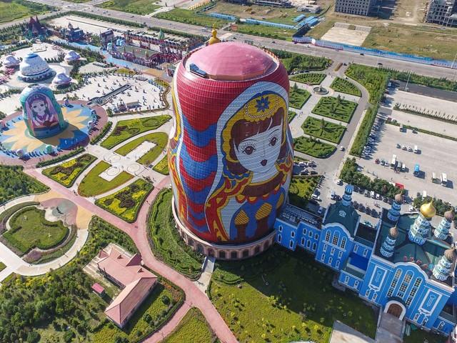 Das hässlichste Gebäude in China wird gekürt