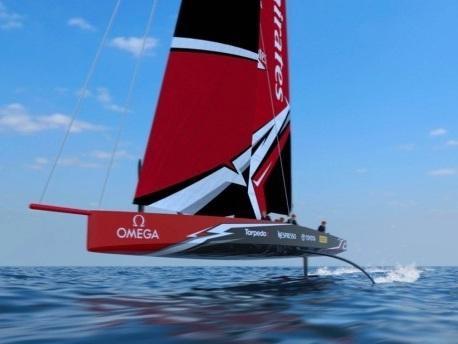 America's Cup: Spektakuläres Boot für 2021 enthüllt