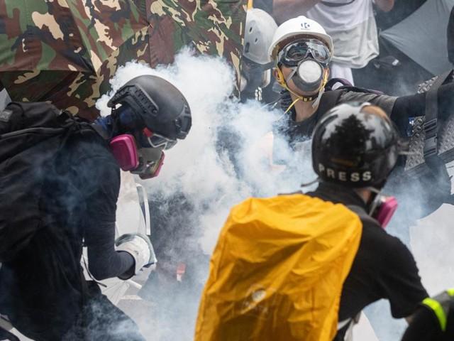 Hongkonger Regierung verbietet Masken bei Protesten
