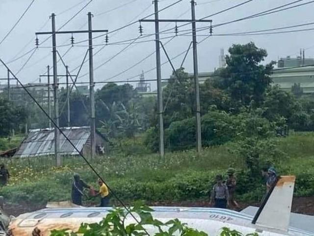Myanmar: Mehrere Tote bei Absturz von Militärflugzeug