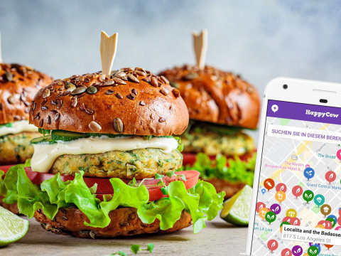 Endlich keine lange Sucherei mehr: Gratis-App zeigt vegane Restaurants in der Nähe