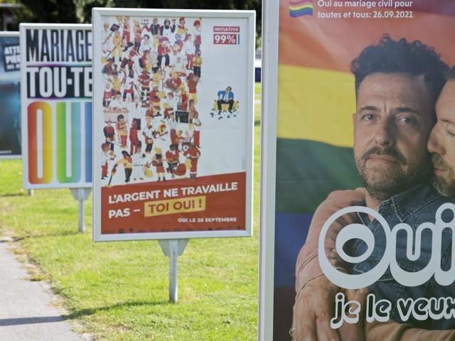 Schweizer stimmten für Homo-Ehe und gegen mehr Steuern für Reiche