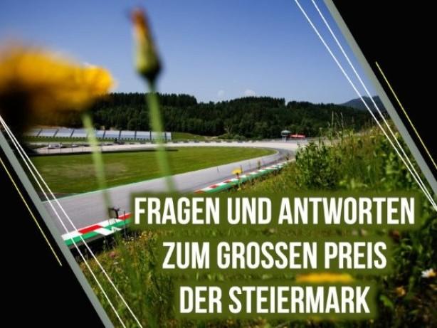 Formel 1: Fragen & Antworten zum GP der Steiermark