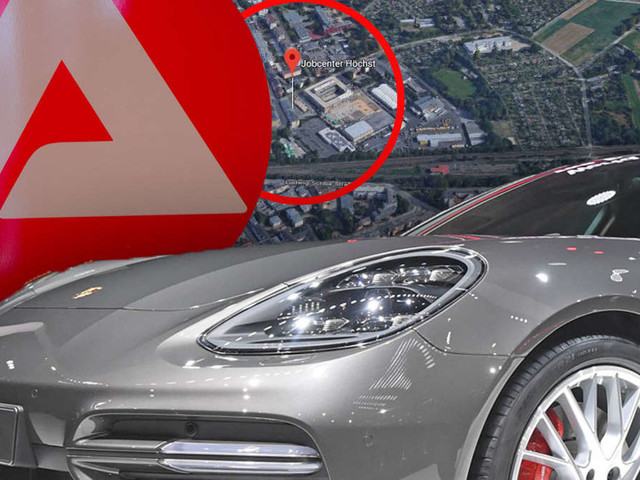 Polizei stoppt 100.000-Euro-Porsche vor Jobcenter - es ist nicht der einzige Luxusschlitten