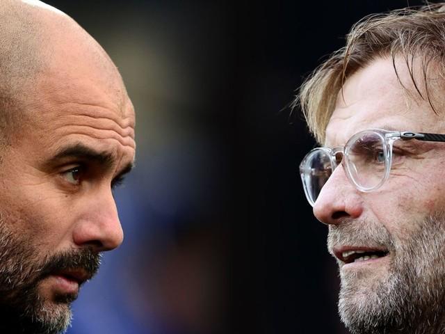 Vor dem Spitzenspiel Manchester City gegen FC Liverpool: Pep Guardiola gegen Jürgen Klopp: Die heißesten Duelle